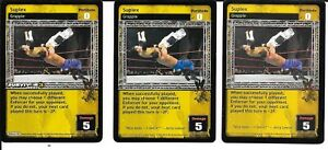 3X Blindside Kick *FREE SHIPPING* RARE *Playset* Strike WWE RAW DEAL