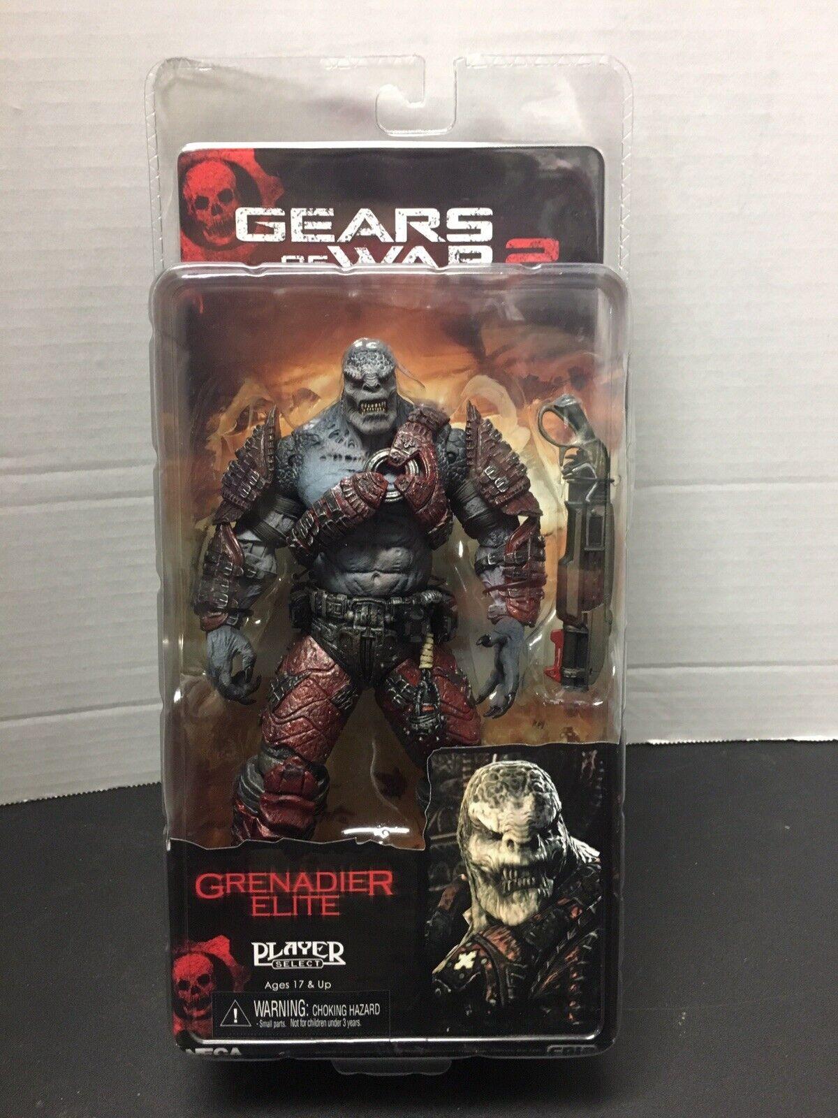 Neca Gears Of War 2 Granadier Elite.nuovo VHTF