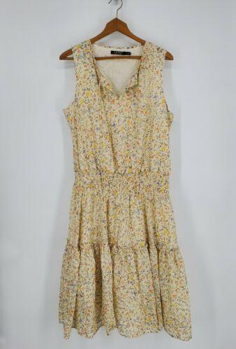 Lauren Ralph Lauren Fit and Flare Midi Dress Flora