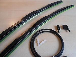 Hybrid-Wiper-Blades-22-034-x22-034-Washer-Jets-MERCEDES-DAF-IVECO-FORD-SCANIA