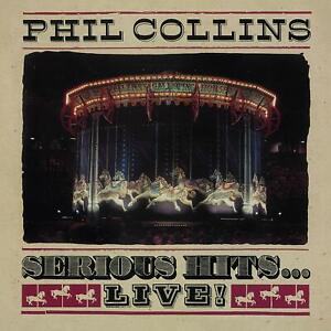 PHIL-COLLINS-Serious-Hits-Live-2019-remastered-reissue-CD-album-NEW-SEALED