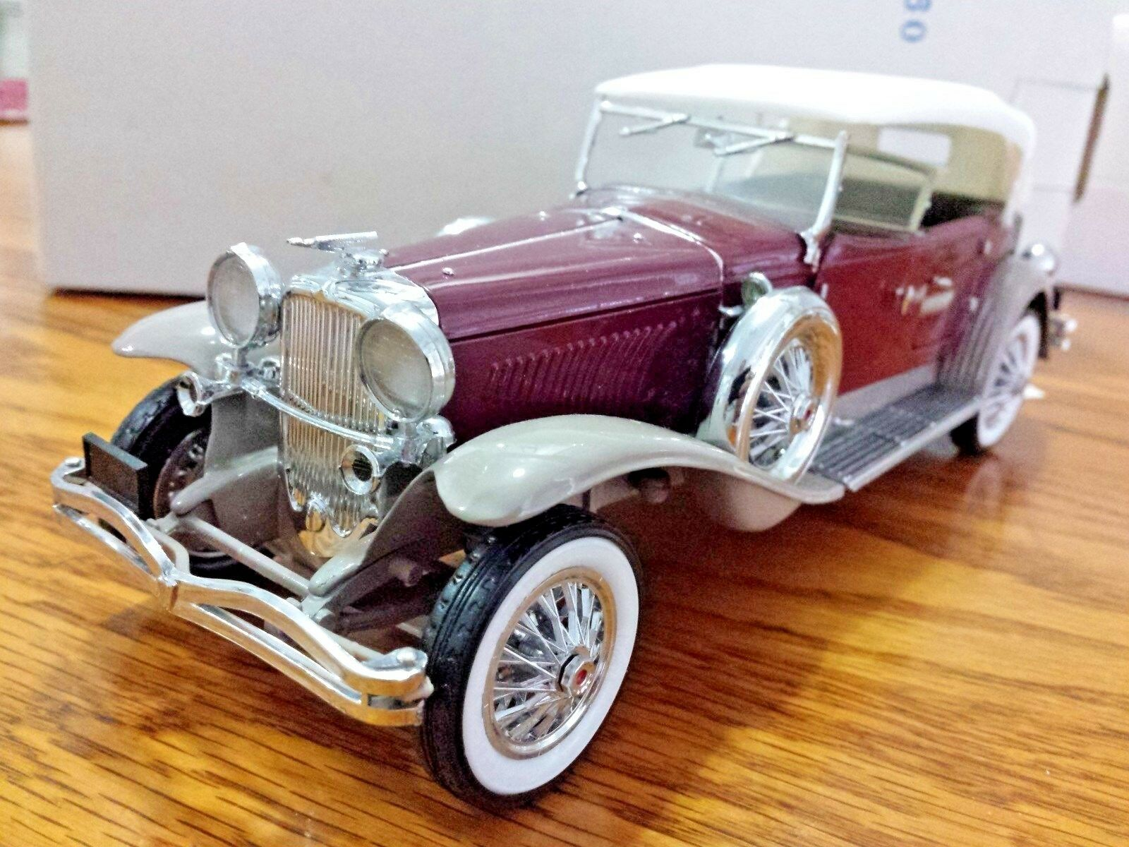 i nuovi marchi outlet online Franklin Mint Duesenberg Duesenberg Duesenberg J 1930 Derham Tourster 1 24 Scale Diecast B11KD09  A125  comprare sconti