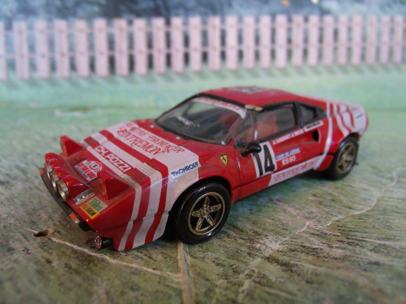 1 43 Record  (France) Ferrari 308 Handmade Resin Model Car