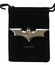 Batman Dc Comics Marvel superhéroe Dark Knight Bat Logo Plata Pin Broche Insignia