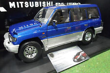 MITSUBISHI PAJERO LWB 1998 LHD bleu blue 1/18 AUTOart 77103 voiture miniature