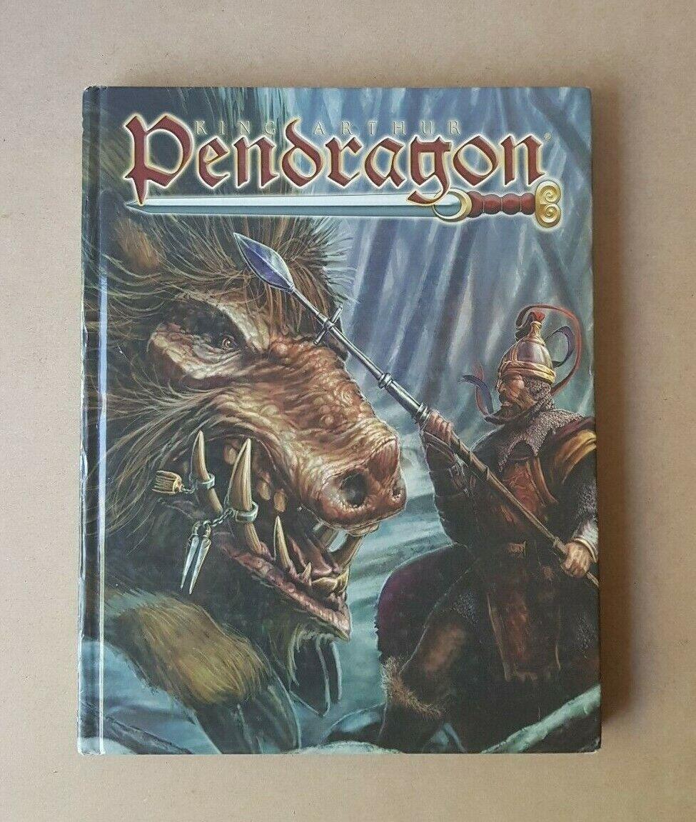 2005 King Arthur Pendragon RPG 5th Edition Core Rulebook Greg Strafford Arthaus