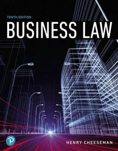 Business law 10th edition by henry cheeseman looseleaf ebay fandeluxe Gallery