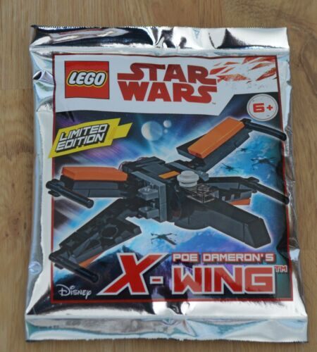 Lego ® Star Wars ™ Limited Edition Minifigure POE DAMERON/'s X-WING NEW /& OVP