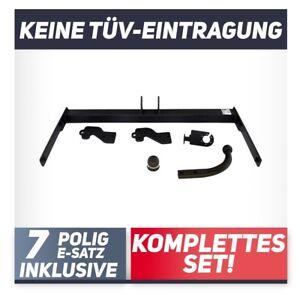 Fuer-Volkswagen-Passat-B6-3C-Limousine-05-10-Anhaengerkupplung-starr-E-Satz-7p