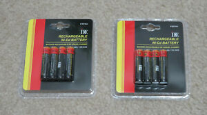 NEW-IDC-Rechargeable-AAA-Batteries-Ni-Cd-350mAh-1-2V-2-of-4-Packs-total-8