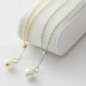 Womens-Pearl-Necklace-Evening-Dress-Wear-in-Gold-and-Silver-Gift-Present-UK