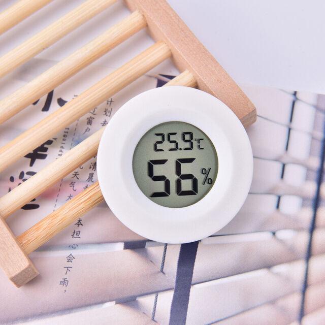 Digital LCD Mini Thermometer Hygrometer Humidity Temperature Meter Indoor Tes FM