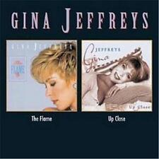 GINA JEFFREYS The Flame/Up Close 2CD BRAND NEW