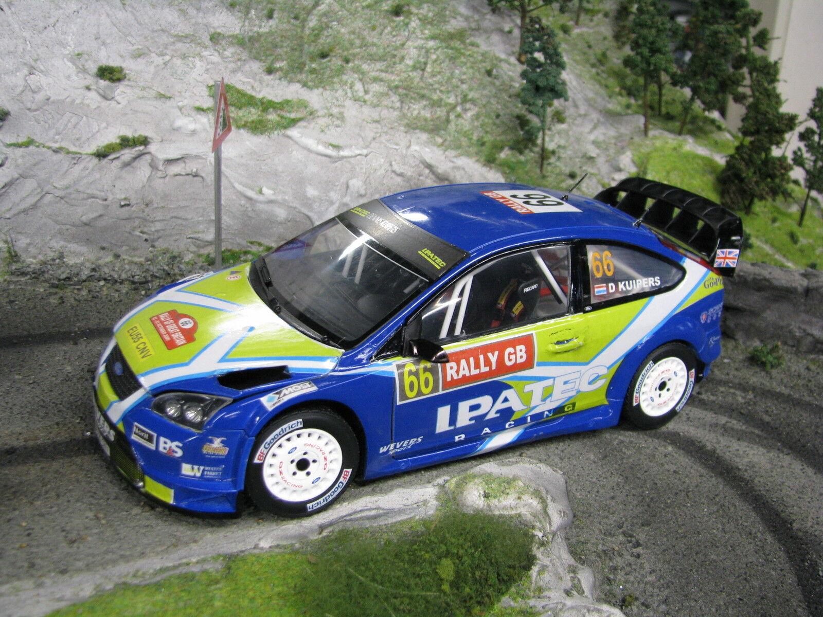 precios mas bajos Sun Estrella Ford Focus RS WRC 06 1 18    66 Kuipers   Hagman Rally GB 2009  Envío rápido y el mejor servicio
