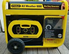 Stanley All Weather Generator 10000watt Starting 8000watt Running12 Gallon Tank