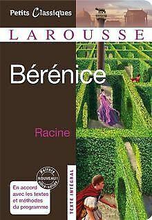Bérénice : Tragédie von Jean Racine | Buch | Zustand gut