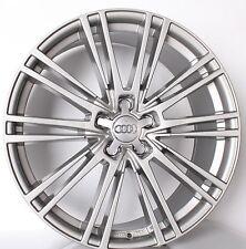 20 Zoll Alufelgen für Audi A4 8K A6 4G 4G1 Q3 Q5 A7 s line Design Daytonagrau