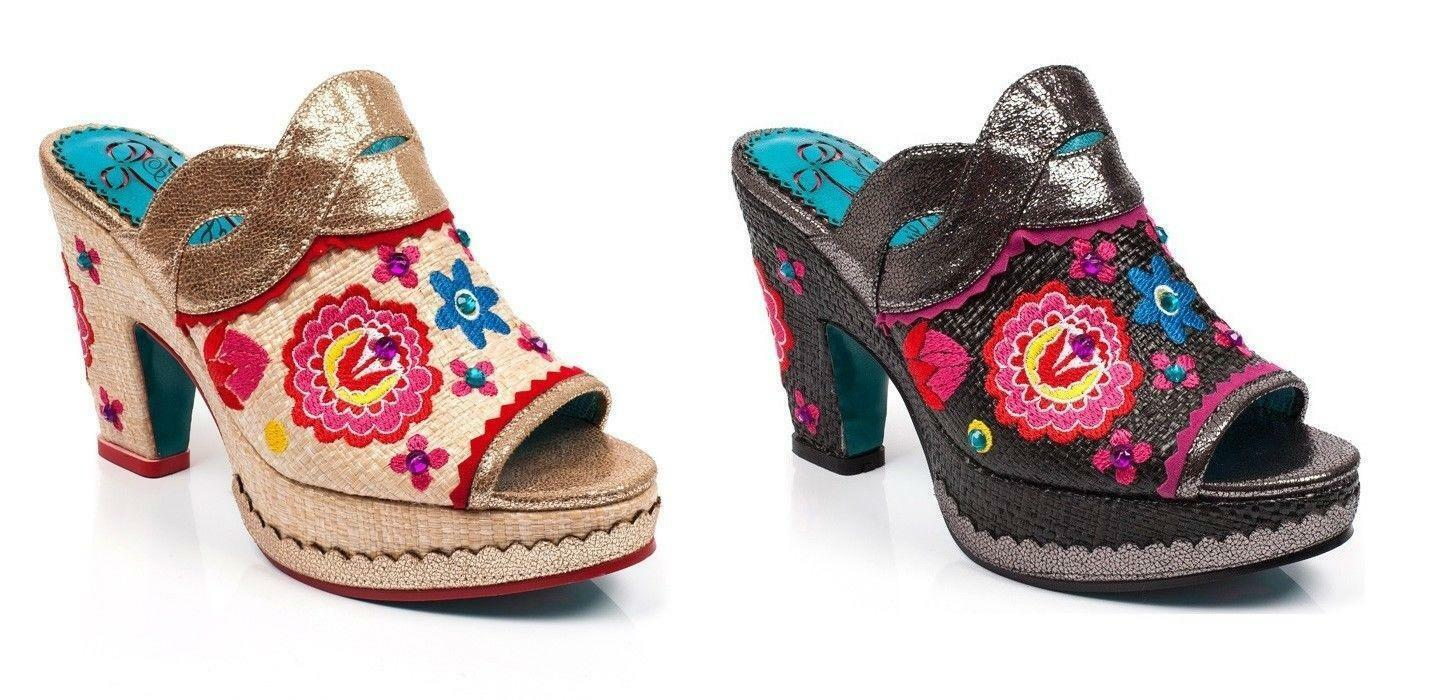 Poetic Licence von Irregular Choice 'Indian Sommer' Schuhe Sandalen