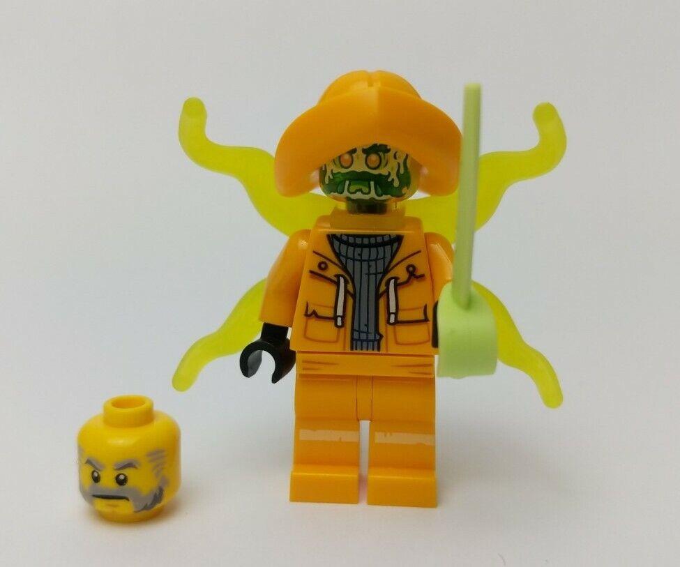 Captain Jonas - Hidden Side hs007 LEGO minifigure