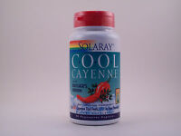 Solaray Cool Cayenne With Butcher's Broom 40000 Hu 90 Capsules