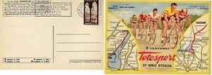STORIA POSTALE 37 GIRO CICLISTICO 1953 ITALIA AMBULANTE 5 TAPPA BARI NAPOLI - Italia - STORIA POSTALE 37 GIRO CICLISTICO 1953 ITALIA AMBULANTE 5 TAPPA BARI NAPOLI - Italia