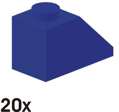 NEUE Dachsteine 45°  2x1  blau 20 St 3040 402
