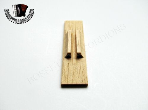 Accordion Valve Pallets Wood 13 x 60 x 6 mm SET OF 5 Import from Italy