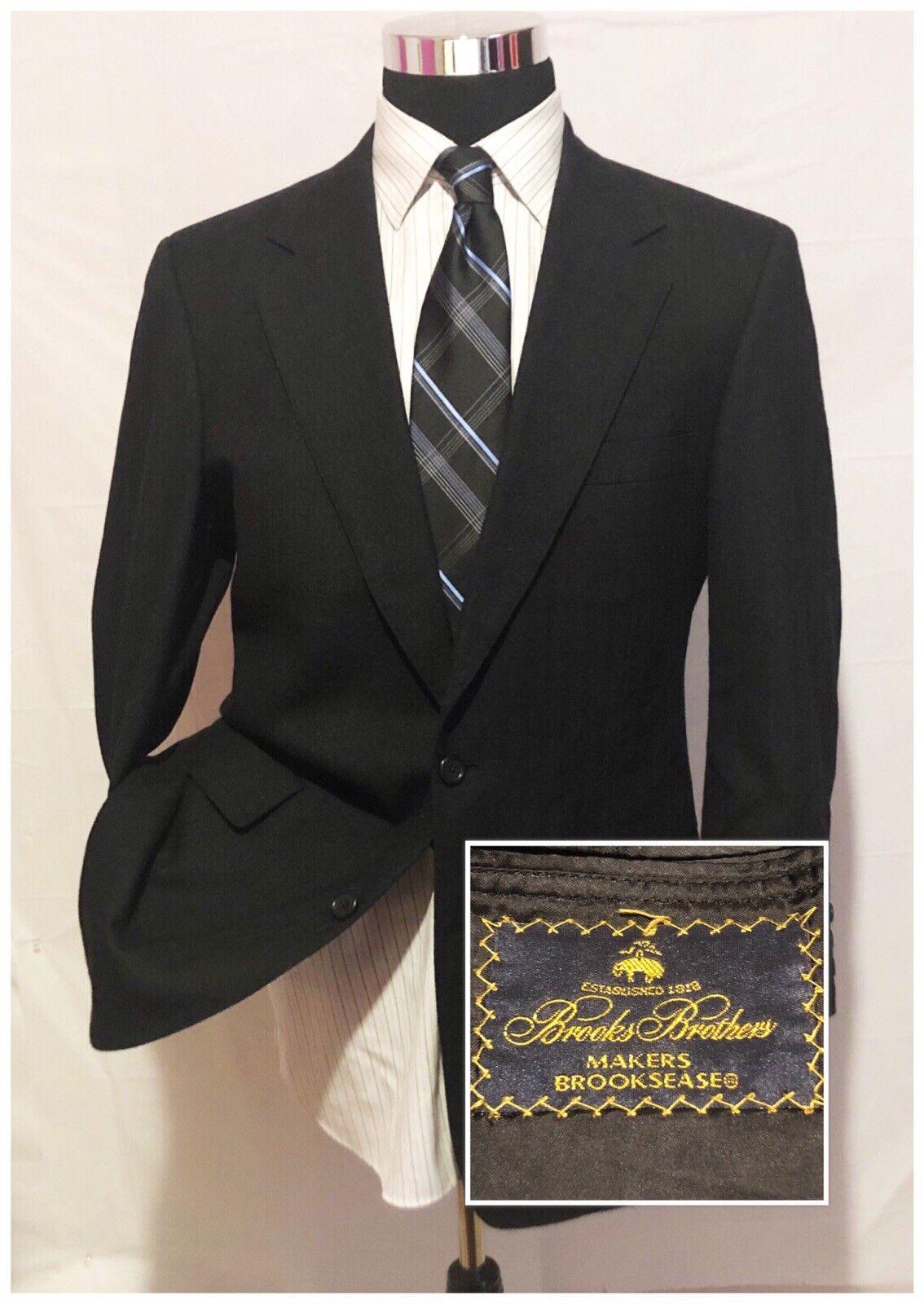 Brooks Brothers Mens Wool Blazer Jacket Sports Coat SZ 40R