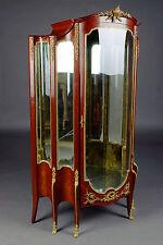 O-211 Majestätische Franz. Vitrine Napoleon III im Transition-Stil Paris Antik