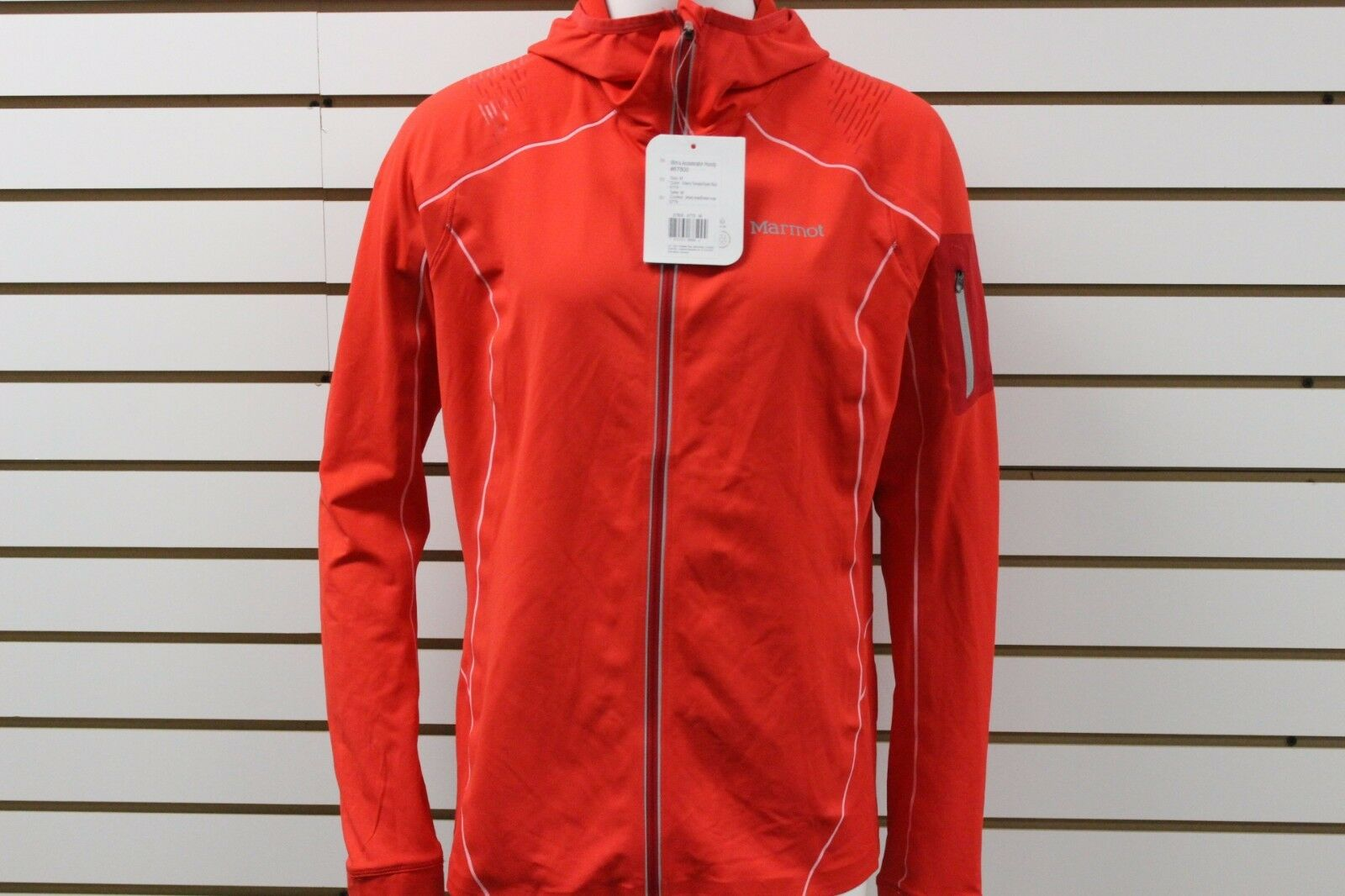 Women's Marmot Accelerator Hoody Chry Tmt Tm Rd New With BLEMISHES MSRP