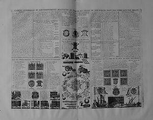 Antique-map-Carte-generalle-du-governement-militaire-de-France