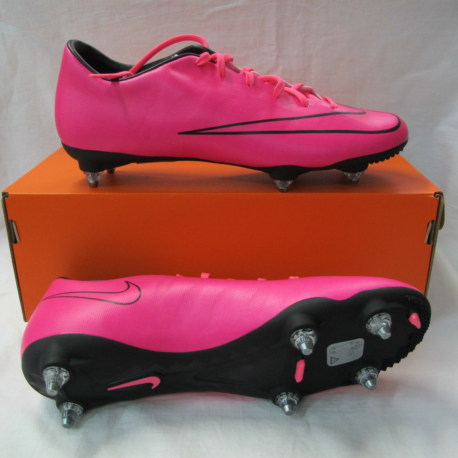 NIKE botas fútbol fútbol fútbol MERCURIAL VICTORY V SG 651633 660 col. FUXIA FLUO agosto 2015 6fee43