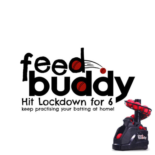 Feed Buddy Cricket Ball Delivery Machine,Fully Portable,Garden,Park /& Club @ £80