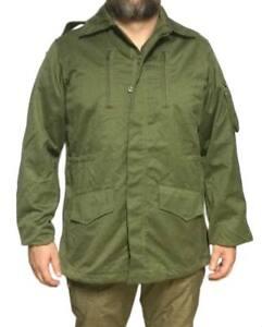 Chaqueton-verde-caza-dos-cuartos-original-ejercito-espana-TALLA-5-militar