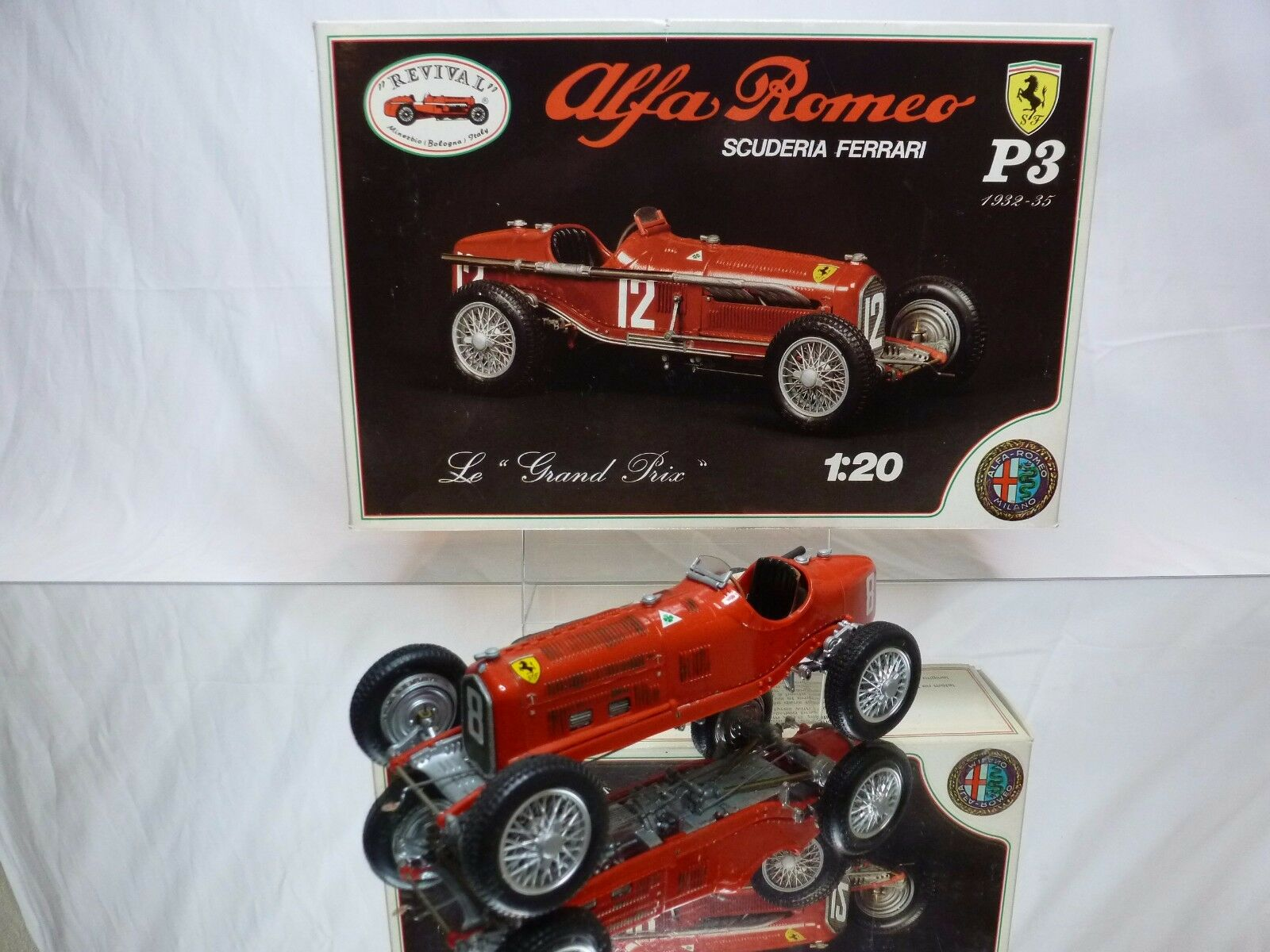 KIT (built) REVIVAL ALFA ROMEO P3 P3 P3 1932-35 - 1 20 - RARE SELTEN - GOOD CONDITION e46c5c