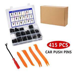415pcs Car Auto Truck Body Plastic Push Pin Rivet Moulding Clip For Ford F150