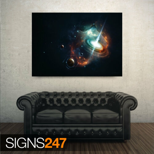Space Photo Picture Poster Print Art A0 A1 A2 A3 A4 3008 SPECTACULAR HORIZON