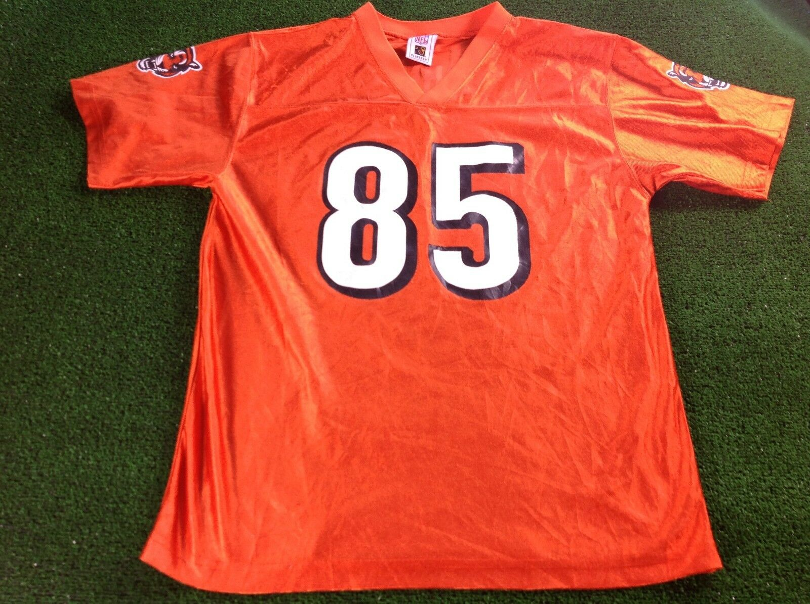 Vtg 80s 90s nfl players cincinatti bengals NFL football shirt jersey men