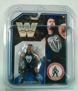 Lot-of-5-Protective-Display-Case-WWE-Retro-Mattel-Wrestling-Figures-WWF-Hasbro