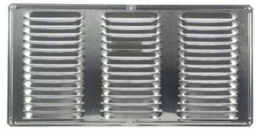 """16/"""" x 8/"""" Air Vent 84210 Aluminum Undereave Vent Mill Finish"""