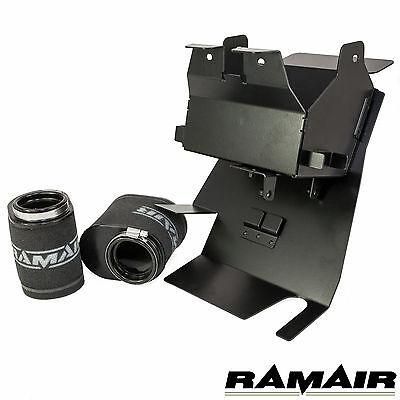 Ramair Triumph Bonneville & Thruxton Air Box Removal Kit with Foam Pod Filters