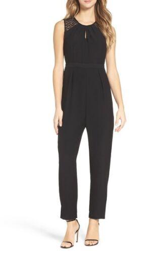 Lunghi Donna Canotta Nero Tuta Elegante Intera Pantaloni Completo 4819 XqYFqptw