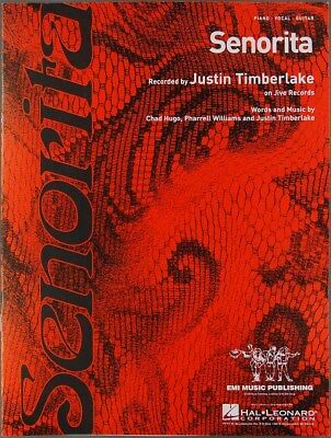 2002 JUSTIN TIMBERLAKE Sheet Music SENORITA Hugo & Williams PIANO VOCAL  GUITAR | eBay