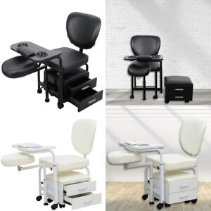 Adjule Manicure Pedicure Nail Station Beauty Chair