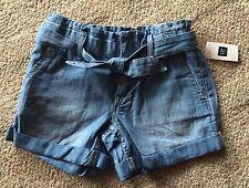 NWT Girls GAP Kids Jean Shorts, Size 7, Denim, Summer, Vacation