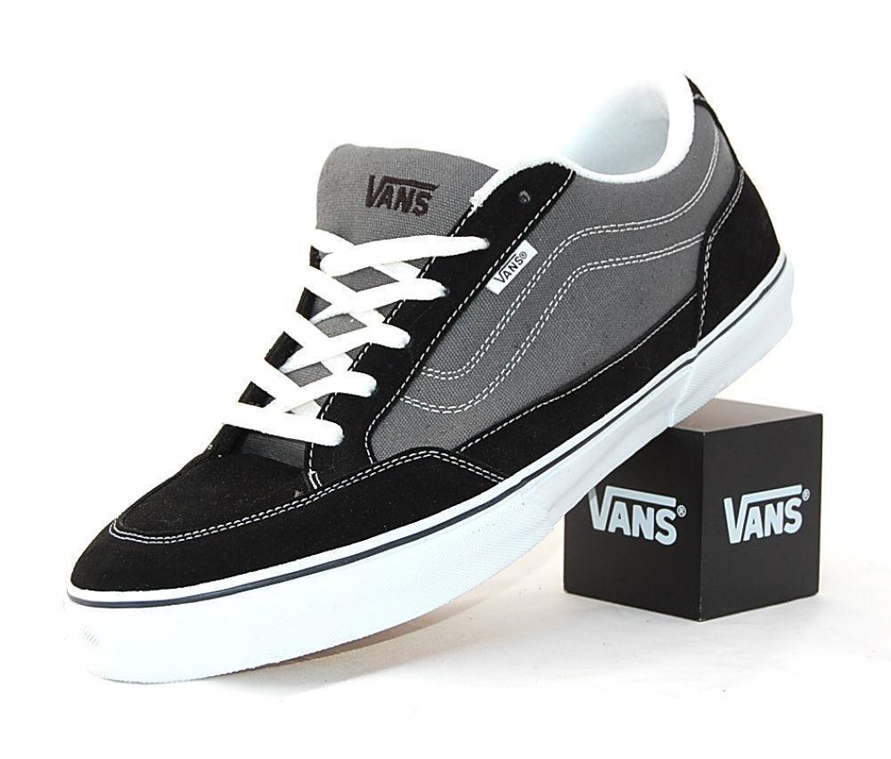VANS BEARCAT CANVAS & SUEDE 8.5 BLACK CHARCOAL Schuhe SZ 8.5 SUEDE  Herren / 10 Damenschuhe NEW NIB b68b5a