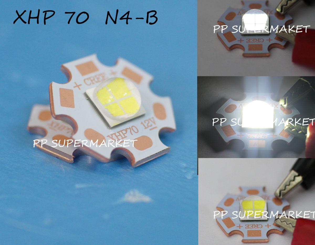 Cree XLamp XHP70 12V 2.4A Weiß 5000K LED Emitter 4022lm@32W LED on 20mm Star