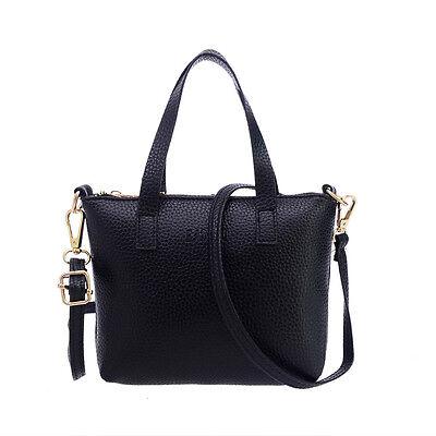 Fashion Women Handbag Leather Messenger Shoulder Bag Large Tote Ladies Purse Bag