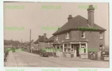 OLD POSTCARD SHARPTHORNE NEWSAGENTS NEAR EAST GRINSTEAD SUSSEX REAL PHOTO 1930S