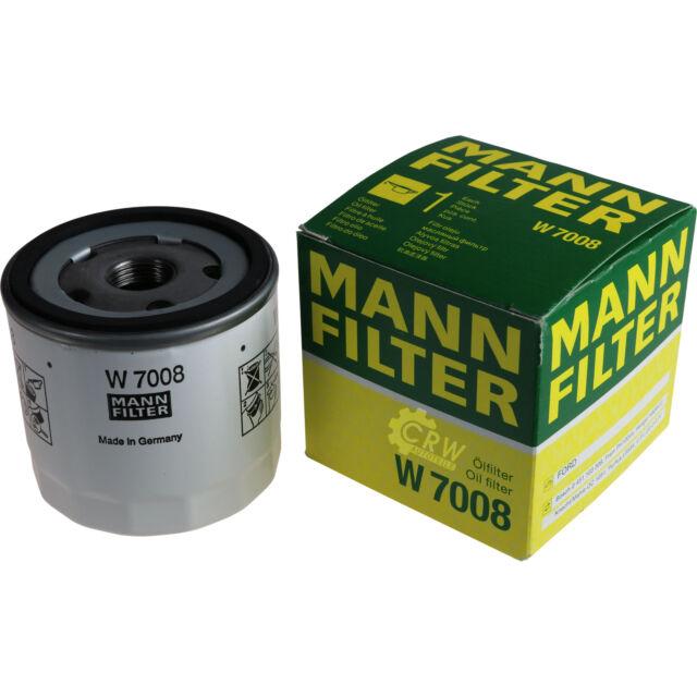 ORIGINALE MANN-FILTER FILTRO OLIO FILTRO W 7008 OIL FILTER